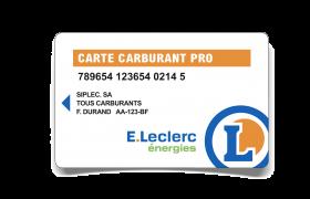 Offre De Rentree Carte Carburant Pro E Leclerc